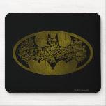 Batman Symbol | Skulls in Bat Logo Mouse Pad
