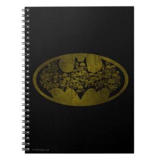 Batman Symbol   Skulls in Bat Logo Notebooks