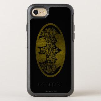 Batman Symbol   Skulls in Bat Logo OtterBox Symmetry iPhone 8/7 Case