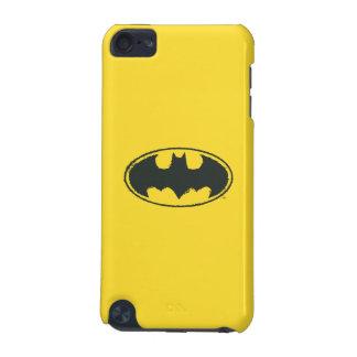 Batman Symbol | Spray Black White Logo iPod Touch 5G Case