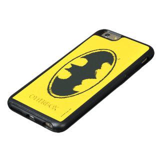 Batman Symbol   Spray Black White Logo OtterBox iPhone 6/6s Plus Case