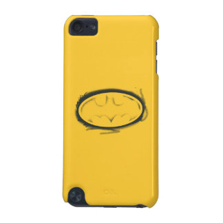 Batman Symbol | Spray Faded Logo iPod Touch 5G Case