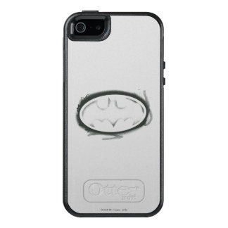 Batman Symbol | Spray Faded Logo OtterBox iPhone 5/5s/SE Case