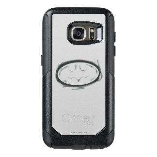Batman Symbol | Spray Faded Logo OtterBox Samsung Galaxy S7 Case