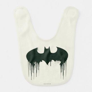Batman Symbol   Spraypaint Logo Baby Bib