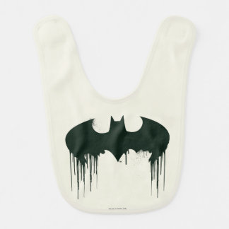 Batman Symbol | Spraypaint Logo Bib