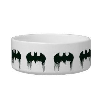 Batman Symbol | Spraypaint Logo Cat Water Bowls