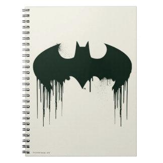 Batman Symbol | Spraypaint Logo Notebook