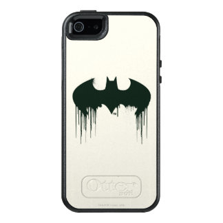Batman Symbol | Spraypaint Logo OtterBox iPhone 5/5s/SE Case