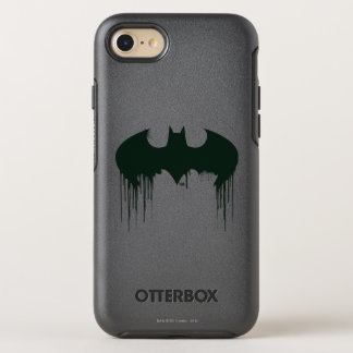 Batman Symbol | Spraypaint Logo OtterBox Symmetry iPhone 8/7 Case