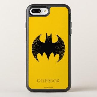 Batman Symbol   Streak Logo OtterBox Symmetry iPhone 8 Plus/7 Plus Case