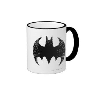 Batman Symbol | Streak Logo Ringer Mug