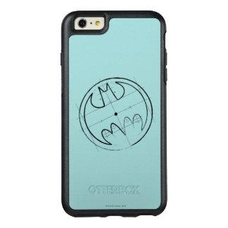 Batman Symbol | Technical Sketch Logo OtterBox iPhone 6/6s Plus Case