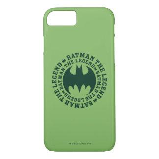 Batman Symbol | The Legend Logo iPhone 8/7 Case