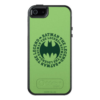 Batman Symbol | The Legend Logo OtterBox iPhone 5/5s/SE Case