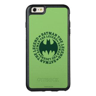 Batman Symbol   The Legend Logo OtterBox iPhone 6/6s Plus Case