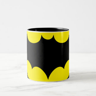 Batman Symbol Two-Tone Coffee Mug