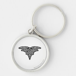 Batman Symbol | Urban Black White Logo Key Ring