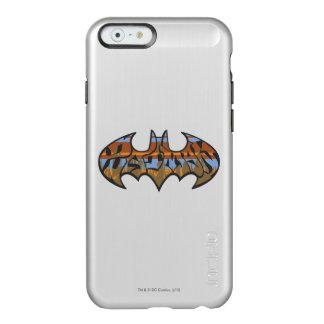 Batman Symbol | Urban Blue Brown Logo Incipio Feather® Shine iPhone 6 Case