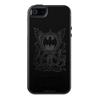 Batman Symbol | Urban Legends Black White Logo OtterBox iPhone 5/5s/SE Case