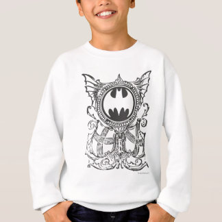 Batman Symbol | Urban Legends Black White Logo Sweatshirt