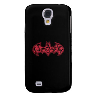 Batman Symbol | Urban Legends Red Waves Logo Galaxy S4 Case