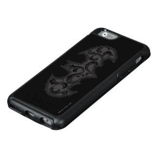 Batman Symbol | Urban Legends White Wave Logo OtterBox iPhone 6/6s Case