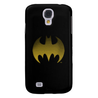 Batman Symbol | Yellow Fade Logo Galaxy S4 Case