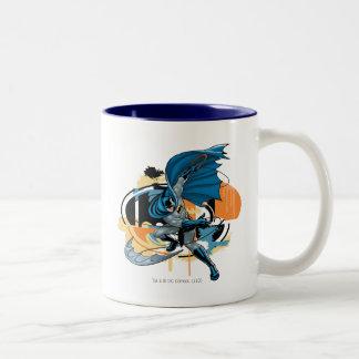 Batman Throw Two-Tone Coffee Mug