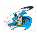 Batman Throws Batarang 3 Postcard