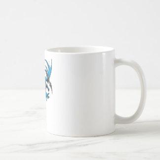 Batman throws batarang coffee mug