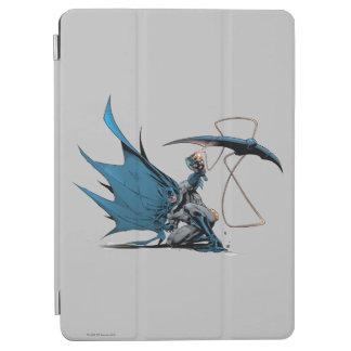 Batman throws baterang iPad air cover