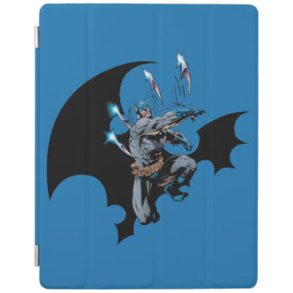 Batman throws weapons iPad cover