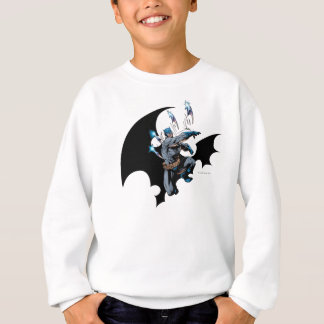 Batman throws weapons sweatshirt