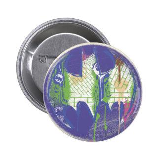 Batman - Twisted Innocence Logo 2 6 Cm Round Badge