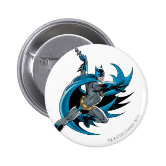 Batman Twists 6 Cm Round Badge