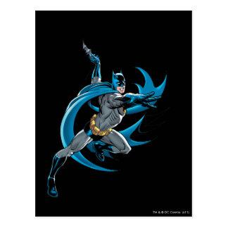 Batman Twists Postcard