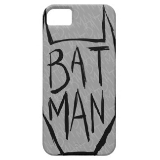 Batman Type in Head Barely There iPhone 5 Case