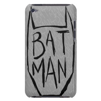 Batman Type in Head Barely There iPod Cover