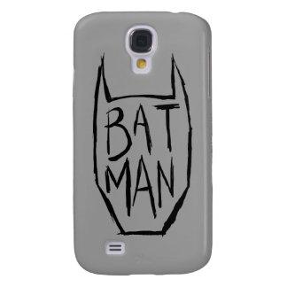 Batman Type in Head Galaxy S4 Case