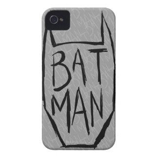 Batman Type in Head iPhone 4 Cases