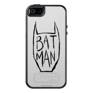 Batman Type in Head OtterBox iPhone 5/5s/SE Case