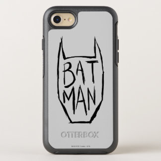 Batman Type in Head OtterBox Symmetry iPhone 8/7 Case