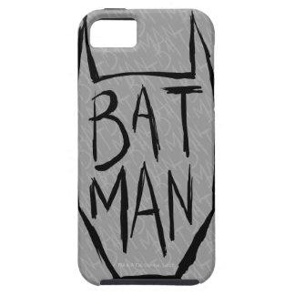 Batman Type in Head Tough iPhone 5 Case