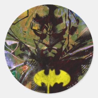 Batman Urban Hip Round Stickers
