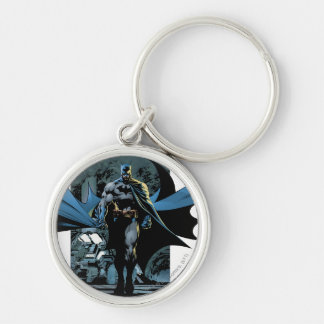 Batman Urban Legends - 1 Silver-Colored Round Key Ring