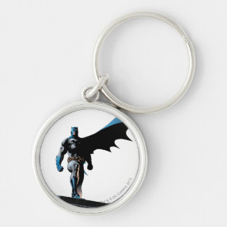 Batman Urban Legends - 4 Silver-Colored Round Key Ring