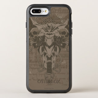 Batman Urban Legends - Batman Calligraphy OtterBox Symmetry iPhone 8 Plus/7 Plus Case