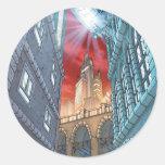 Batman Urban Legends - BG 3 - Gotham City Round Sticker