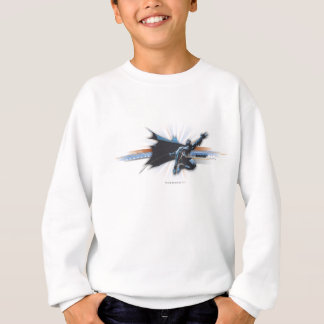 Batman Urban Legends - Blue/Brown Flying Sweatshirt